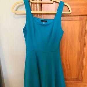 """Soprano"" Blue Dress"
